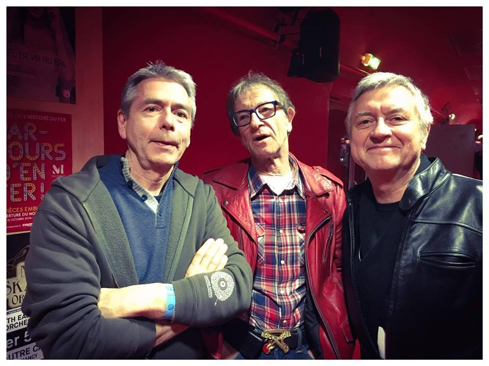 Henri,Pepin, Denis aux 10ans de l'Autre canal