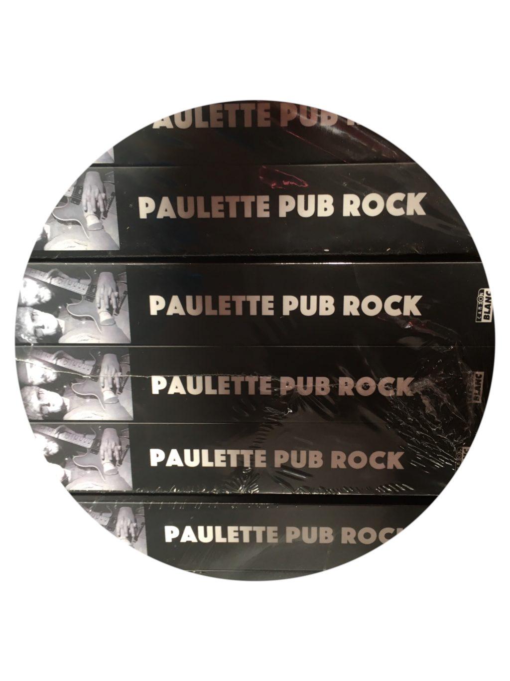 livre Paulette Pub Rock edition camion blanc