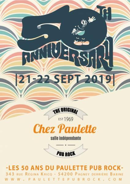 50 ans Chez Paulette