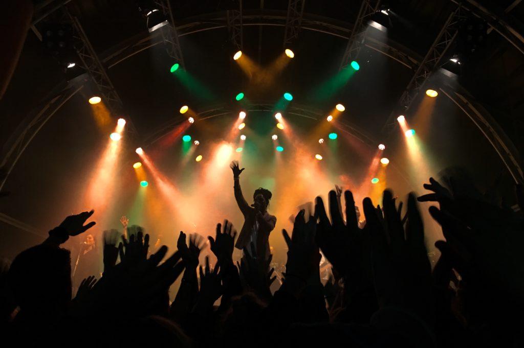 Concert live credit photo UNSPLASH